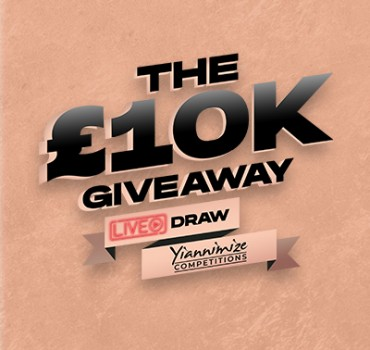 We Are GIVING AWAY £10,000 This Friday 9th July!