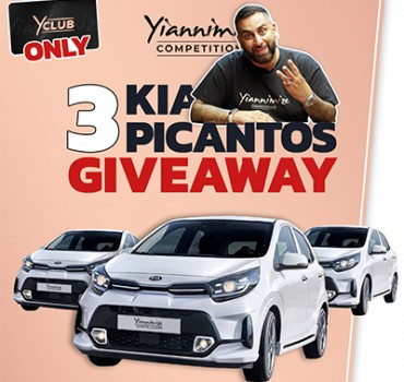 VIDEO: Giving Away 3 Kia Picantos to Y-Club Members