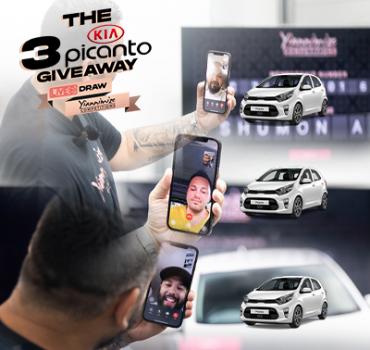 The 3 Kia Picanto Y-Club Giveaway