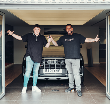 Video + Behind the scenes: Tyler Jones, Competition Winner Collects his new Audi SQ7