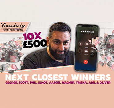 Video: Calling 10 Closest Winners to Give Away £5000