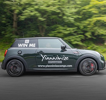Y-Club Exclusive: We are giving away A Brand New Mini Cooper JCW
