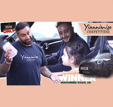 Video: Watch Muhammed Collect His Mini John Cooper Works