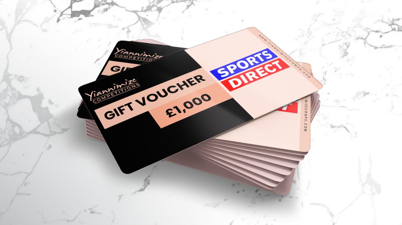 £1,000 Sports Direct Voucher