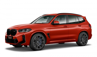 BMW X3M Competition