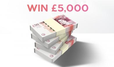 £5,000 Cash