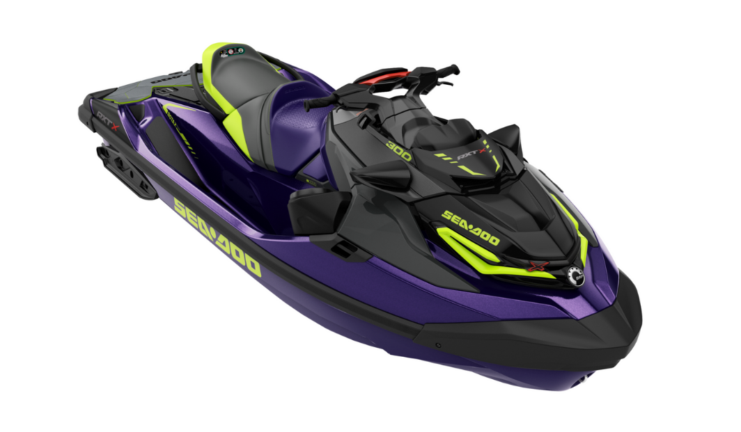 Sea-Doo RXT-X X RS 300 With Sound System + Trailer